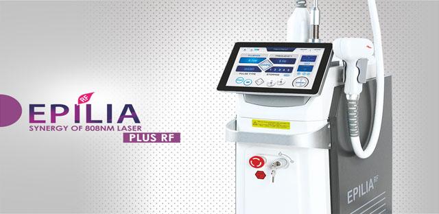 خرید و فروش دستگاه لیزر دایود موهای زاید لیزر دایود اپیلیا آراف Epilia RF Diode Laser