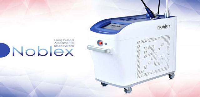 خرید و فروش لیزر الکساندرایت اصل دستگاه لیزر الکساندرایت نابلکس Noblex Alexandrite