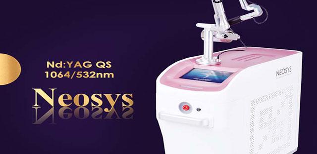خرید و فروش دستگاه لیزر پاک کننده تاتو و خالکوبی لیزر کیوسوییچ Neosys Qswitch Laser